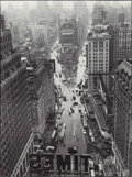 Photographs, Lou Stoumen (American, 1917-1991). Times Square in the Rain, 1940. Gelatin silver, printed later. 17-3/4 x 13-1/4 inches...