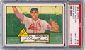 Baseball Cards:Singles (1950-1959), 1952 Topps Johnny Bucha (Black Back) #19 PSA NM-MT 8 - Only Two Higher. ...