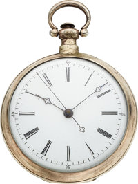 Bovet Silver Cased Duplex For The Chinese Market, circa 1860's