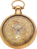 Timepieces:Pocket (pre 1900) , Waltham P.S. Bartlett Model 79, 18k Gold Earlier Pair Case...