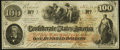 Confederate Notes:1862 Issues, T41 $100 1862 PF-7 Cr. 317 Choice About Uncirculated.. ...