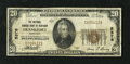 National Bank Notes:Kentucky, Frankfort, KY - $20 1929 Ty. 1 The National Branch Bank of KentuckyCh. # 5376. This note is one of 12 Small documented ...