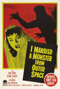 """Movie Posters:Science Fiction, I Married a Monster From Outer Space (Paramount, 1958). AustralianOne Sheet (27"""" X 40""""). One of the better science fiction ..."""