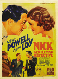 """After the Thin Man (MGM, 1936). French Grande (47"""" X 63""""). This is the first sequel to the tremendously popula..."""