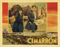 """Movie Posters:Western, Cimarron (RKO, 1931). Lobby Card (11"""" X 14""""). This Academy Award winning picture was adapted from the great Edna Ferber nove..."""