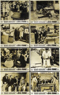 """Movie Posters:Comedy, The Big Store (MGM, 1941). Australian Photo Lobby Card Set of 8(11"""" X 14""""). Cooked books and zany antics keep this Marx Bro...(Total: 8 Item)"""