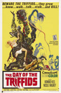 "Movie Posters:Science Fiction, The Day of the Triffids (Allied Artists, 1960). One Sheet (27"" X41""). The wonderful artwork for this science fiction classi..."