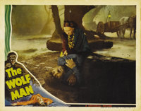 "The Wolf Man (Universal, 1941). Lobby Card (11"" X 14""). Maria Ouspenskaya, who plays the gypsy woman who warns..."