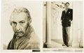 "Movie/TV Memorabilia:Autographs and Signed Items, Cedric Hardwicke and Louis Hayward Signed Photos. Included are a b&w 8"" x 10"" photos signed by Hayward and Hardwicke in blue..."