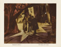 "Movie Posters:Horror, The Cabinet of Dr. Caligari (Goldwyn, 1920). Lobby Card (11"" X14""). Although the film was released in Germany in 1920, it w..."