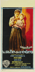 """Movie Posters:Drama, East of Eden (Warner Brothers, 1955). Italian Locandina (13"""" X27.5""""). This was the debut film that brought James Dean to th..."""