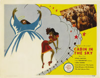 "Cabin in the Sky (MGM, 1943). Lobby Cards (2) (11"" X 14""). Vincent Minnelli's first film is this all-black cas..."