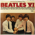 """Music Memorabilia:Recordings, """"Beatles VI"""" Sealed Stereo LP (Capitol 2358, 1965). It's 1965. Thealbum's by the Beatles. The album's an original issue, an..."""