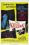 """Movie Posters:Film Noir, The Killing (United Artists, 1956). One Sheet (27"""" X 41""""). Thisfilm, based on the novel """"Clean Break"""" by Lionel White, was ..."""