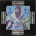 """Music Memorabilia:Autographs and Signed Items, Zombies """"Odyssey & Oracle"""" Signed Stereo LP (Date 4013, 1969).The reunited classic line-up of Rod Argent, Colin Blunstone, ..."""