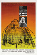 "Movie Posters:Science Fiction, Planet of the Apes (20th Century Fox, 1968). One Sheet (27"" X 41""). Pierre Boulle's novel was brought to the screen in one o..."