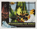 """Movie Posters:Science Fiction, It Conquered the World (American International, 1956). Lobby Card(11"""" X 14""""). Monster creator Paul Blaisdell, who worked on..."""