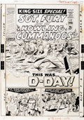 Original Comic Art:Covers, Dick Ayers and John Tartaglione - Sgt. Fury Special #2 CoverOriginal Art (Marvel, 1966). ...