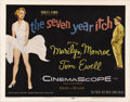 "Movie Posters:Comedy, The Seven Year Itch (20th Century Fox, 1955). Title Lobby Card (11"" X 14"") and Lobby Cards (2) (11"" X 14""). The film was bas... (Total: 3 Items)"