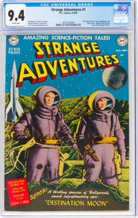 Strange Adventures #1 (DC, 1950) CGC NM 9.4 White pages