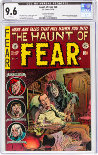 Haunt of Fear #26 Gaines File Pedigree 3/12 (EC, 1954) CGC NM+ 9.6 White pages