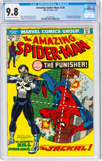 The Amazing Spider-Man #129 (Marvel, 1974) CGC NM/MT 9.8 Off-white to white pages