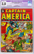 Golden Age (1938-1955):Superhero, Captain America Comics #9 (Timely, 1941) CGC Apparent GD/VG 3.0 Slight (C-1) Off-white pages....