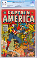 Golden Age (1938-1955):Superhero, Captain America Comics #15 (Timely, 1942) CGC GD/VG 3.0 Cream to off-white pages....