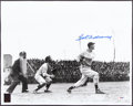 Baseball Collectibles:Photos, Ted Williams Signed Large Photograph....