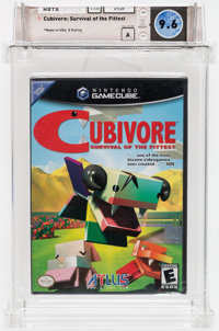 Cubivore: Survival of the Fittest Wata 9.6 A Sealed Atlus G.Cube 2002 USA