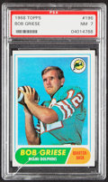Football Cards:Singles (1960-1969), 1968 Topps Bob Griese #196 PSA NM 7....