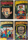 Memorabilia:Comic-Related, Roy Thomas Presents: Frankenstein Volumes #3-8 Slipcase Hardback Editions Group of 6 (PS Artbooks, 2013).... (Total: 6 Items)