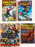 Books:Hardcover, Amazing Spider-Man Marvel Omnibus Group of 3 (Marvel, 1990s).... (Total: 4 Items)
