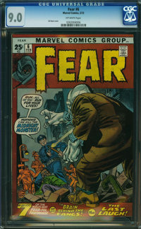 Fear #6 (Marvel, 1972) CGC VF/NM 9.0 Off-white pages