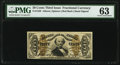 Fractional Currency:Third Issue, Fr. 1329 50¢ Third Issue Spinner PMG Choice Uncirculated 63.. ...