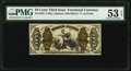 Fractional Currency:Third Issue, Fr. 1345 50¢ Third Issue Justice PMG About Uncirculated 53 EPQ.. ...