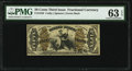 Fractional Currency:Third Issue, Fr. 1358 50¢ Third Issue Justice PMG Choice Uncirculated 63 EPQ.. ...