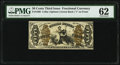 Fractional Currency:Third Issue, Fr. 1360 50¢ Third Issue Justice PMG Uncirculated 62.. ...