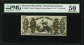 Fractional Currency:Third Issue, Fr. 1363 50¢ Third Issue Justice PMG About Uncirculated 50.. ...