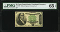 Fractional Currency:Fourth Issue, Fr. 1379 50¢ Fourth Issue Dexter PMG Gem Uncirculated 65 EPQ.. ...