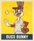 """Baseball Collectibles:Others, 2019 Bugs Bunny 1948 Leaf """"Card That Never Was"""" Original Painting by Arthur Miller...."""