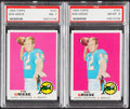 Football Cards:Singles (1960-1969), 1969 Topps Bob Griese #161 PSA-Graded Pair (2).... (Total: 2 items)
