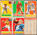 Football Cards:Lots, 1956 Topps Football Collection (179)....