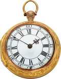 Timepieces:Pocket (pre 1900) , G. Bethill, London, 20k Gold Pair Cased Verge Fusee, circa...