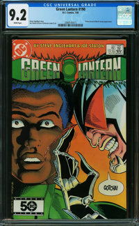 Green Lantern #190 (DC, 1985) CGC NM- 9.2 White pages