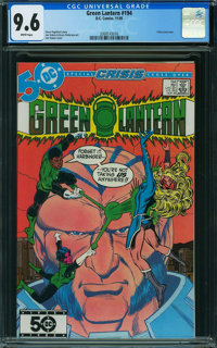 Green Lantern #194 (DC, 1985) CGC NM+ 9.6 White pages