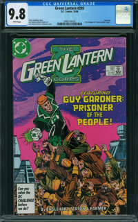 Green Lantern #205 (DC, 1986) CGC NM/MT 9.8 White pages