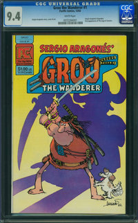 Groo the Wanderer #1 (Pacific Comics, 1982) CGC NM 9.4 White pages
