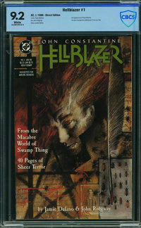 Hellblazer #1 - CBCS Certified (DC, 1988) CGC NM- 9.2 White pages