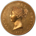 Great Britain, Great Britain: Victoria bronze Proof INA Retro Issue Crown 1879-Dated PR67 PCGS,...